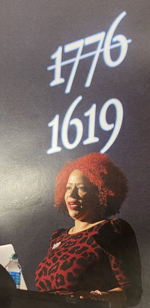 Nikole Hannah-Jones cancels 1776.